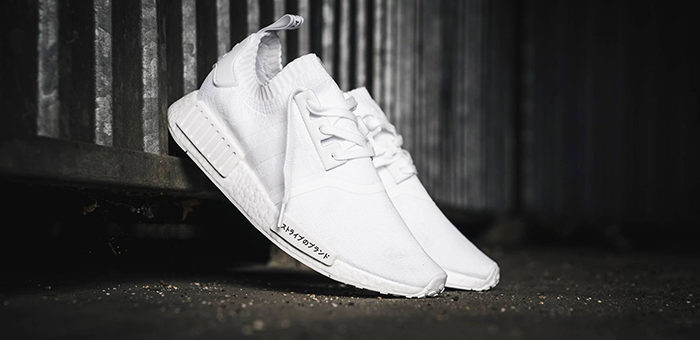22% off the adidas NMD R1 Triple White Japan