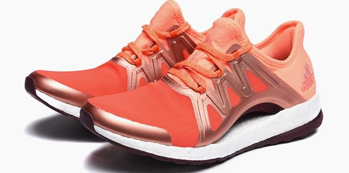 """adidas Pure Boost Xpose """"Energy Glow"""" on sale for $59.98 (retail $130)"""