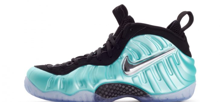 "Nike Air Foamposite Pro ""Tiffany"" drops in 15 minutes"