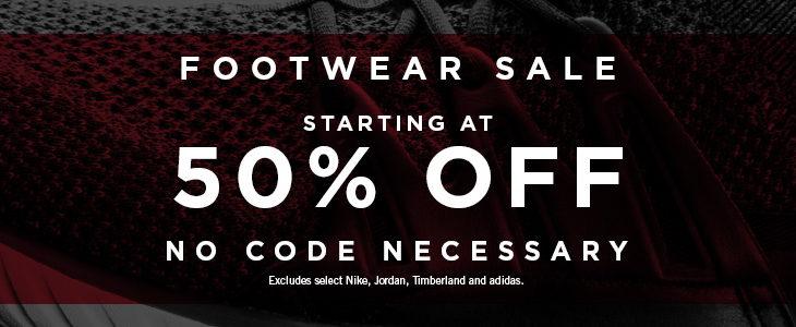 50% OFF Kicks Limited Time Sale