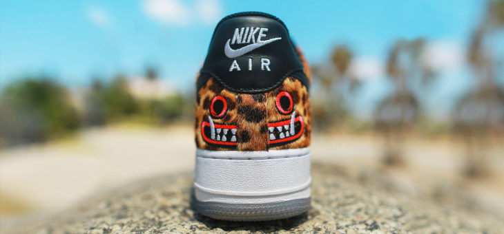 "Saner x Nike Air Force 1 LHM ""Master Jaguar"" Los Primos"