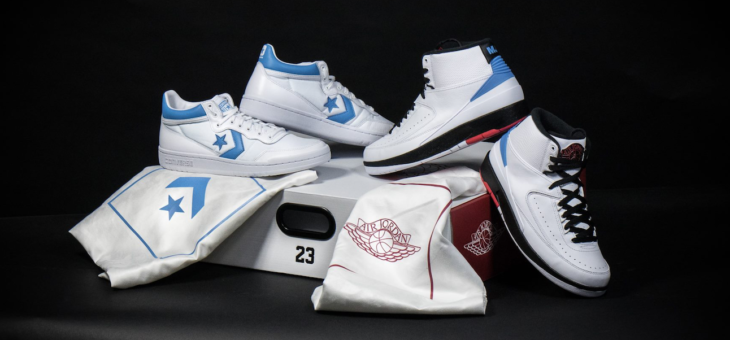 "Last Few sizes of the Jordan x Converse ""Alumni Pack"" are on sale for only $184 (retail $300)"