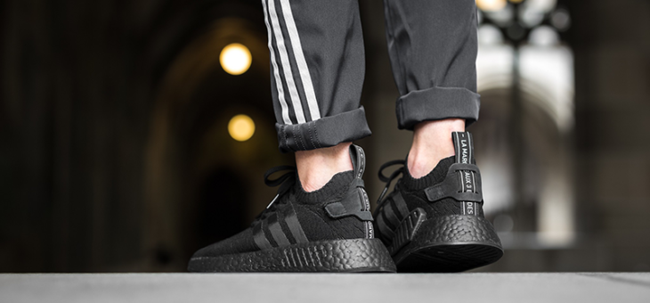"""Adidas NMD Triple Black and Triple White """"Textile Pack"""" Release Links"""