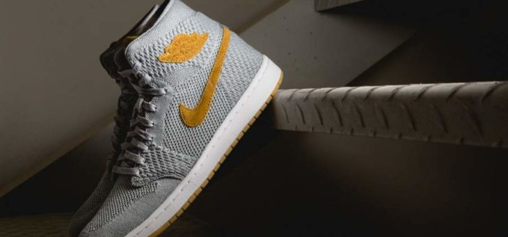 Air Jordan 1 Retro High Flyknit Wolf Grey Release Links