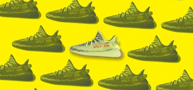 "Kanye West x adidas Yeezy 350 V2 ""Semi Frozen Yellow"" Release and Raffle Info"