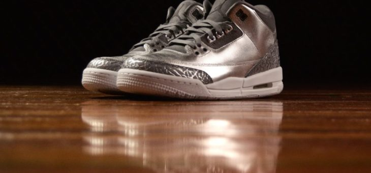 "Air Jordan 3 Retro Chrome ""Heiress"""