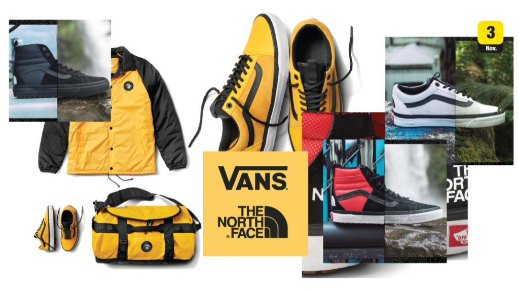 18c734e963e7 จัดว่าเด็ด! The North Face x Vans Fall Winter 2017 Collection