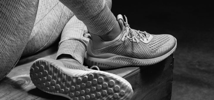 Reigning Champ x adidas AlphaBounce on sale for only $46