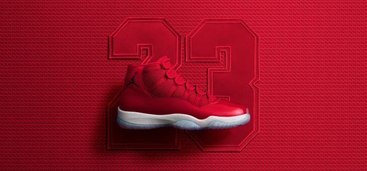 "A few sizes restocked – Jordan Retro XI ""Win Like '96"""