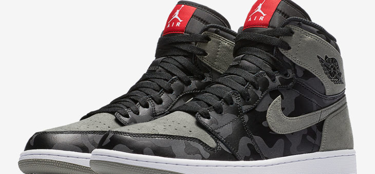 Air Jordan 1 Retro High Premium 'Shadow Camo' on sale for only $101