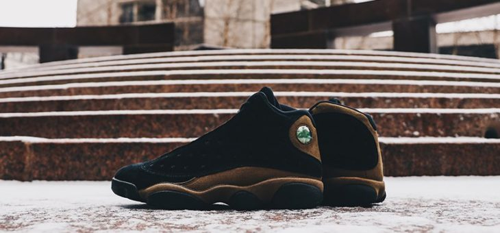 "Jordan Retro 13 ""Olive"" Release Links"