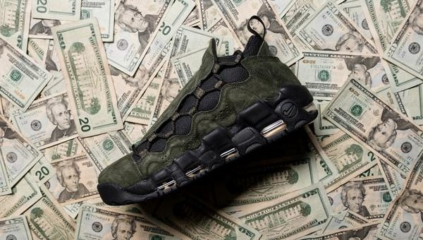 "Nike Air More Money ""US Dollar"" Release Links"