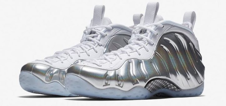 Nike Air Foamposite One Shine Chrome Release Links