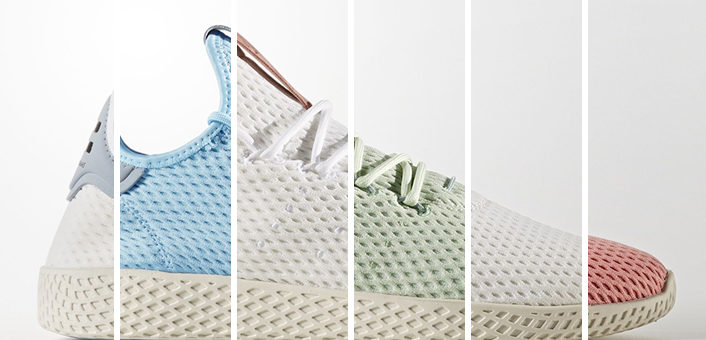 Adidas x Pharrell Williams Tennis HU on sale for only $50