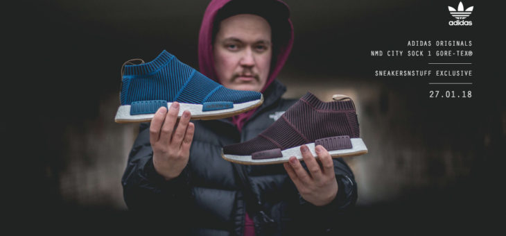 SNS x adidas NMD CS1 GORE-TEX Primeknit Release Links