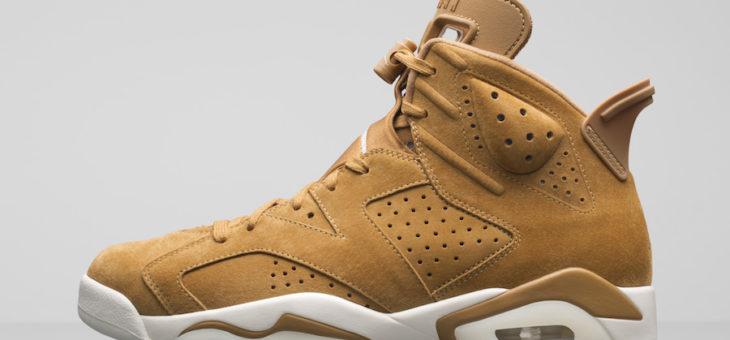 Jordan Retro 6 Wheat on sale for $145 (retail $190)