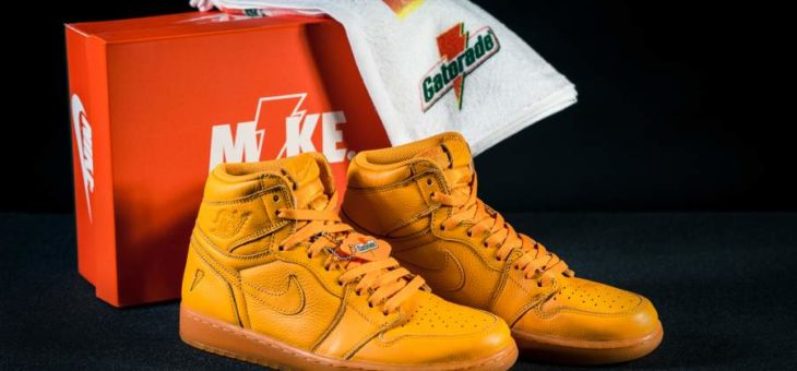 Jordan Retro 1 OG Gatorade on sale for $147.97 with Free Shipping