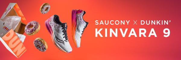 Saucony x Dunkin' Donuts Kinvara 9 Preorder