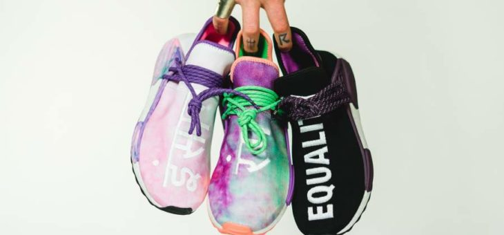"Pharrell Williams x Adidas NMD Hu Holi ""Powder Dye"" Release"