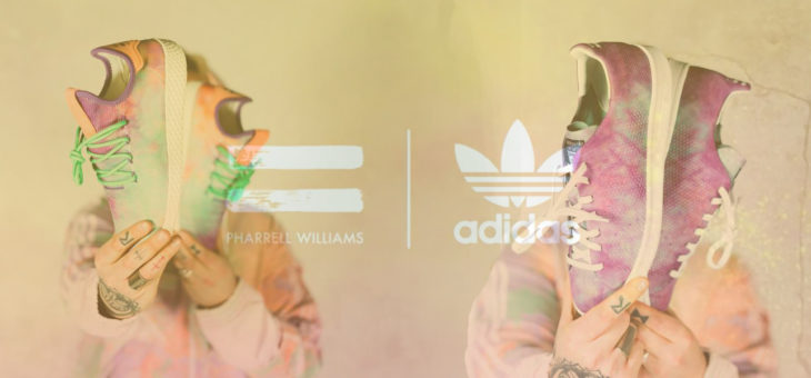 "Pharrell Williams x Adidas Tennis Hu & Stan Smith Holi ""Powder Dye"" Release Links"