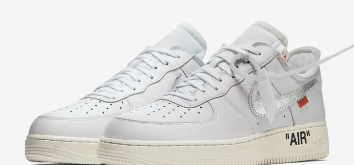 Off White x Nike Air Force 1 Low is Getting a Proper Release