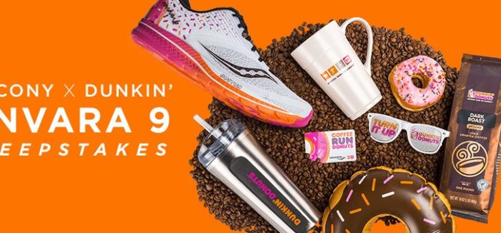 Enter The Dunkin Donuts x Saucony Giveaway