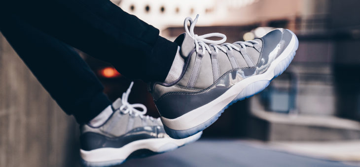 Grab the Jordan Retro 11 Low Cool Grey for $169 + Free Shipping & No Tax