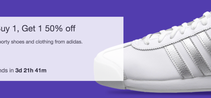 Adidas BOGO 50% off Sale Event