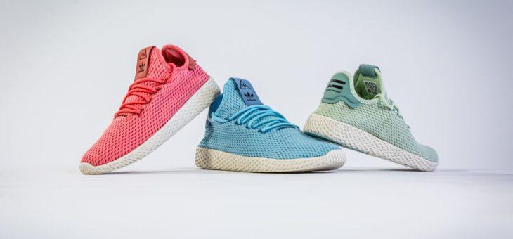 "Pharrell Williams x Adidas Tennis Hu ""Pastel Pack"" on sale for just $52 (retail $110)"