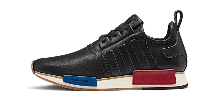 40% off adidas x Hender Scheme NMD_R1 OG Leather Sneakers