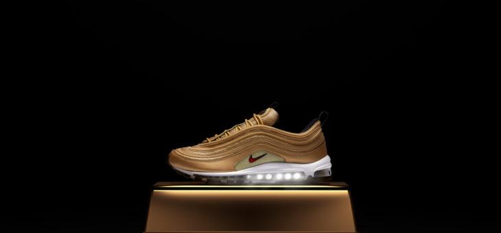"""Nike Air Max 97 OG """"Gold Bullet"""" Restock"""