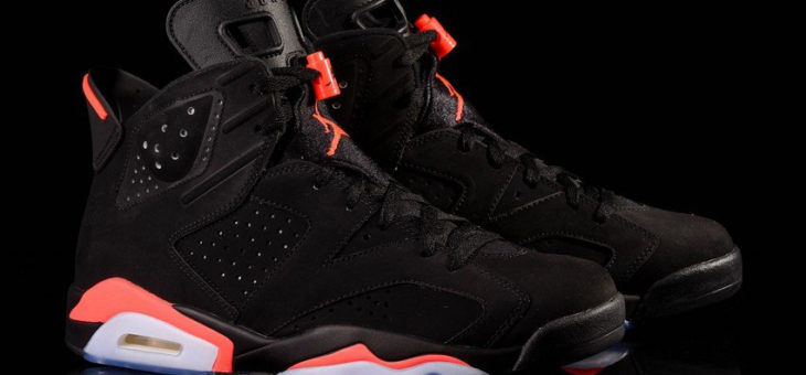 Jordan Retro 6 Black Infrared Restock