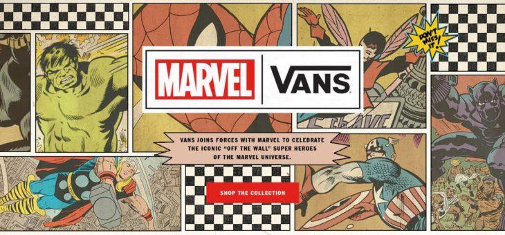 Vans x Marvel Release Links