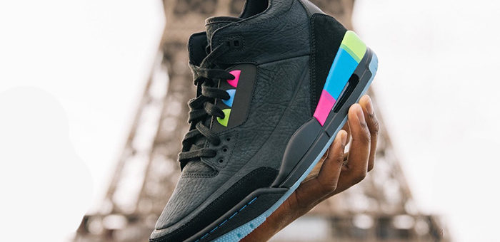 """Jordan Retro 3 SE """"Quai 54"""" Release"""