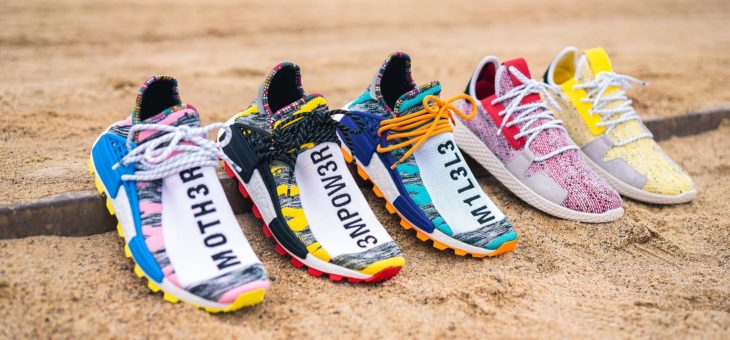 Pharrell Williams x Adidas Solar Collection Release