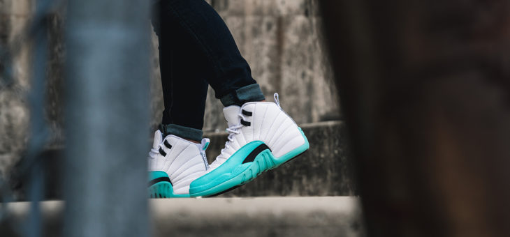 "Jordan Retro 12 ""Light Aqua"" 510815-100 Release"