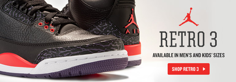 Jordan Retro 3 Crimson Purple
