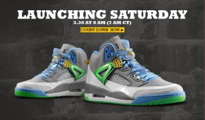 Footaction Jordan Spizike Easter Sale