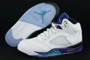 lowest price 8fe4f f85c6 Footlocker as usual has announced their ticket information for the Air  Jordan Retro 5 Grape release ...