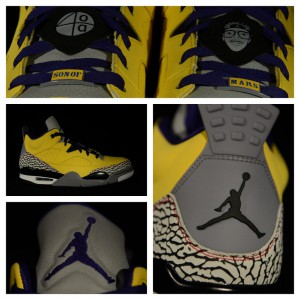 "Jordan Son Of Mars Yellow ""Lakers"""
