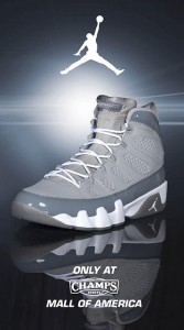 Retro 9 Cool Gray May Restock at Champs