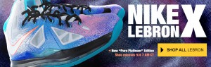 LeBron X ReEntry Pure Platinum For Sale Online