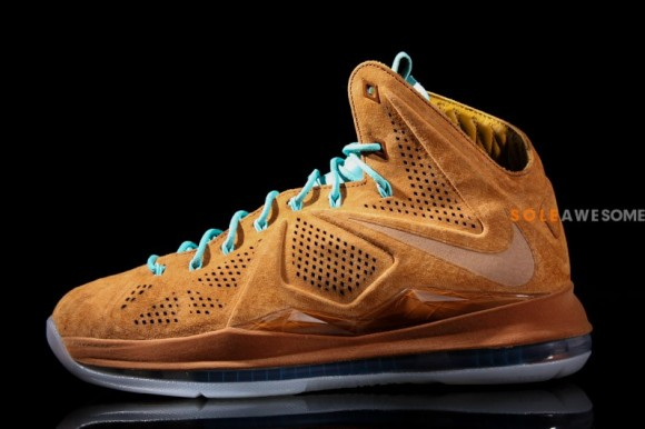LeBron X EXT Suede Hazelnut Brown Release Date 7/6