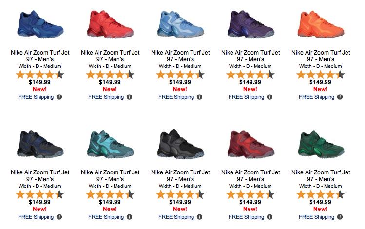 Nike Zoom Turf 97 Drench Pack