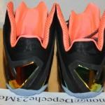 LeBron 11 Elite Mango Heel