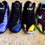 LeBron 11 EXT Denim Suede Palm Tree Kings Crown