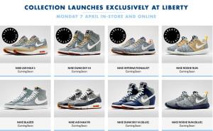 Liberty x Nike April 2014