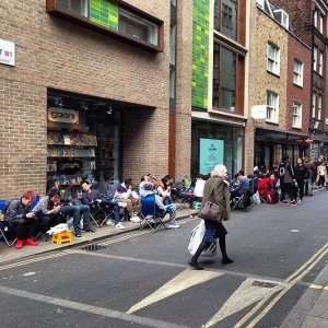 Supreme x Nike Foamposite One Release Line London