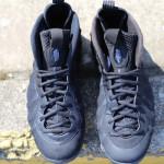 Nike Foamposite Suede Blackout
