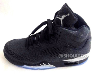 Jordan 3LAb5 Black Metallic